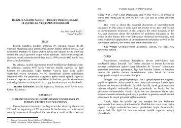 PDF İndir - istanbul üniversitesi elektronik dergi sistemi