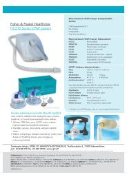 Fisher & Paykel Healthcare HC210 Series CPAP system - Spira