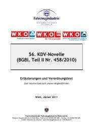 56. KDV-Novelle (BGBl. Teil II Nr. 458/2010) - Kraftfahrzeugtechniker