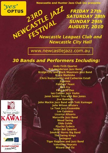 23rd newcastle jazz festival - Canberra Jazz Club