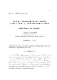 Lipschitz estimates for multilinear commutator of Litllewood-Paley