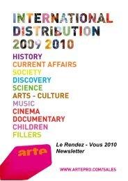 Le Rendez - Vous 2010 Newsletter