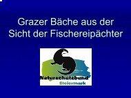 Grazer Bäche aus der Sicht der Fischereipächter - Wasserland ...