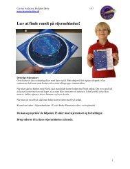 Lær at finde rundt på stjernehimlen! - Børn af Galileo