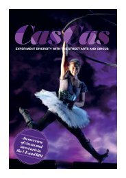 An overview of circus and street arts in the UK and ROI - CASCAS