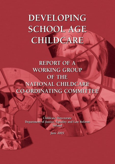Developing School Age Childcare - Department of Children and ...