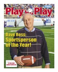 Vol. 4, No. 3, December 24, 2007 - Play by Play