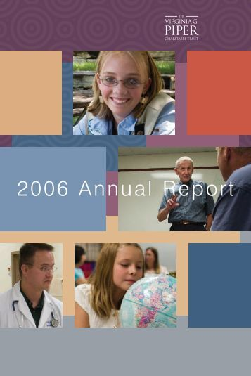 2006 Annual Report - Virginia Piper