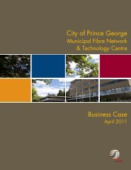 Business Plan - City of Prince George