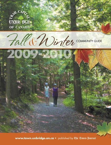 Fall 09 UXBguide_ebook - The Township of Uxbridge