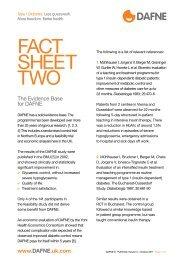 FACT SHEET TWO - Dafne - UK.COM