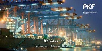 Treffen zum Jahresauftakt - PKF