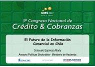 El Futuro de la Información Comercial en Chile - SINACOFI