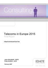 Telecoms in Europe 2015 - Key4biz