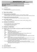 BEZPEČNOSTNÍ LIST - Page 6
