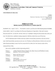 WMMB ELECTIONS Ballots must be postmarked on or before April 25