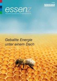 Geballte Energie unter einem Dach - Stadtwerke Essen AG