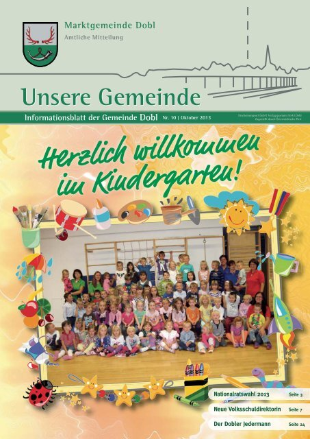 Aktivitten im Schuljahr: Marktgemeinde Dobl-Zwaring
