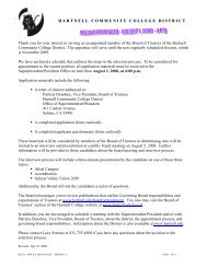 Sample Letter to Interested Applicants - Hartnell College