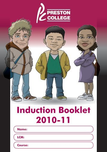 Induction Booklet 2010-11