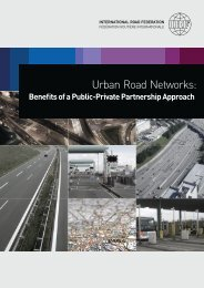 Urban Road Networks: Benefits of a Public-Private Partnership ...