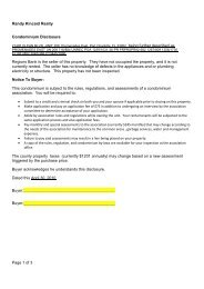 Blank contract for sale and purchase