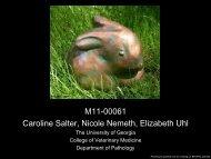 M11-00061 Caroline Salter, Nicole Nemeth, Elizabeth Uhl