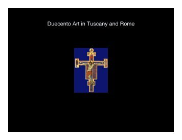 Duecento Art in Tuscany and Rome
