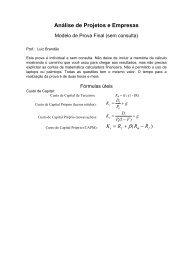 Modelo de Prova - IAG - A Escola de Negócios da PUC-Rio