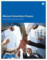 Motorola PartnerSelect Program - Motorola Solutions