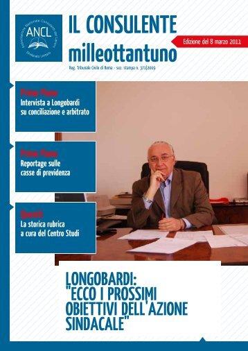 """LongobaRdI: """"ECCo I PRoSSImI obIEttIvI dELL'azIonE ... - Ancl"""