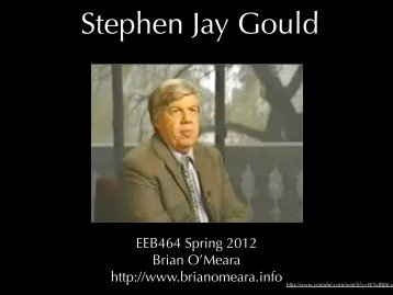 Gould - Brian O'Meara Lab