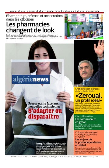 Fr-04-06-2013 - Algérie news quotidien national d'information