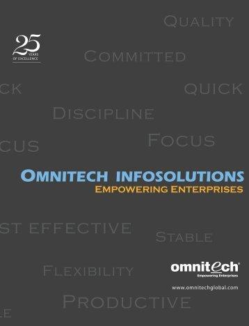 Corporate Brochure - Omnitechglobal.com