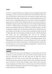 Erfahrungsbericht Sevilla Anreise: Ich bin am 11. September 2005 ...