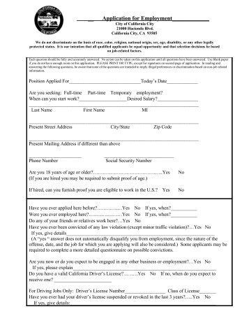 application for employment pages 1 through 5 brown deer school