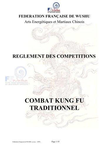 COMBAT KUNG FU TRADITIONNEL - Fédération française de wushu