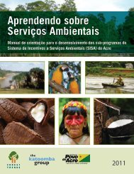 Aprendendo sobre Serviços Ambientais - Forest Trends