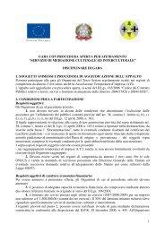 Disciplinare - CSV Catanzaro