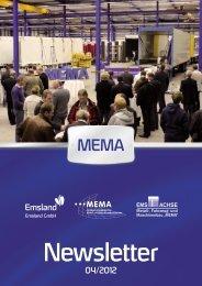 MEMA-Newsletter 4/2012 - Landkreis Emsland