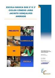 escola básica dos 2º e 3º ciclos cónego joão jacinto gonçalves ...
