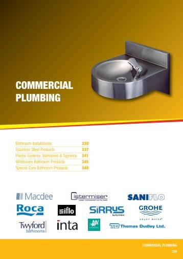 COMMERCIAL PLUMBING - City Plumbing Supplies