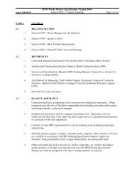 Section #09912 - Exterior Painting - Department of Transportation ...