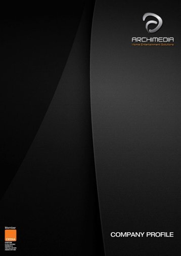 Company Profile(En) - Archimedia