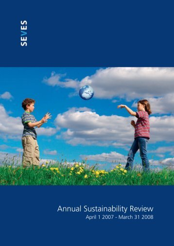 Annual Sustainability Review - Seves