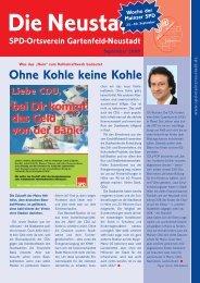 Ohne Kohle keine Kohle - SPD Mainz