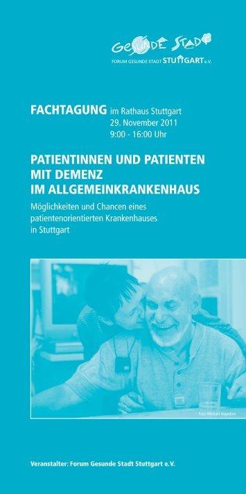 patientinnen und patienten mit demenz im allgemeinkrankenhaus