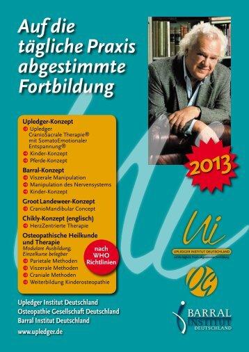 ©2013 - Upledger Institut Deutschland
