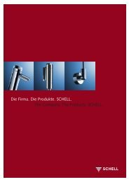 Die Firma. Die Produkte. SCHELL. The Company. The Products ...