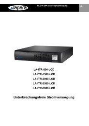 Unterbrechungsfreie Stromversorgung - Laparaups.com
